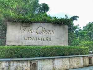 Oberoi Udaivilas: The royal ceremonial location @ Udaipur