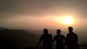 Sunset at Mandalpatti
