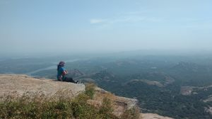 Savandurga Trek : Top view is worth all of it