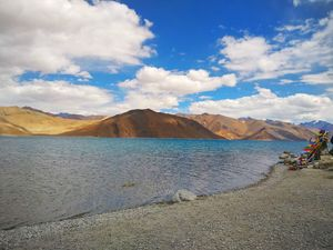 Pangong Tso – Nature's Masterpiece