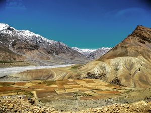 Looking for a place with mesmerising landscapes..Spiti is the place for you...