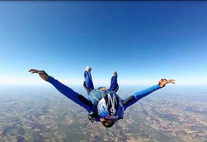 Skydiving in the South of France