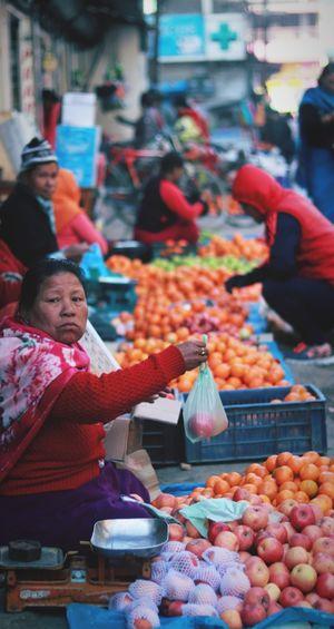 Ima Keithel: World's largest all women's market. #northeastphotos