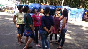 8 girls from different cities on a bacherellote trip to Kerala - Part  1