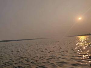 Lesser known lake near Chilika