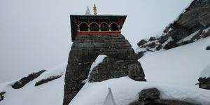 Winter trek to Tungnath ... highest temple of Lord Shiva