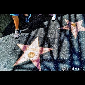 walking with the star...