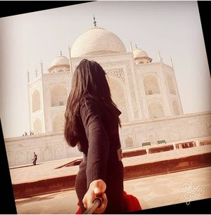 The Taj Mahal An ArchitecturalMarvel #feastfortheyes #masterpiece #SelfieWithAView #TripotoCommunity