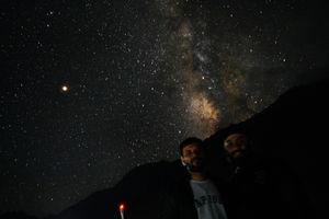 Under The Sky - Milky way#TripotoTakeMeToGoa