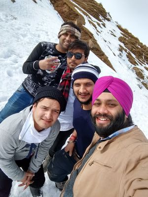 Lets Play in SNow !!!!, Natha Top , Jammu   #photoblog