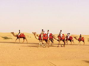 To the golden city, Jaisalmer