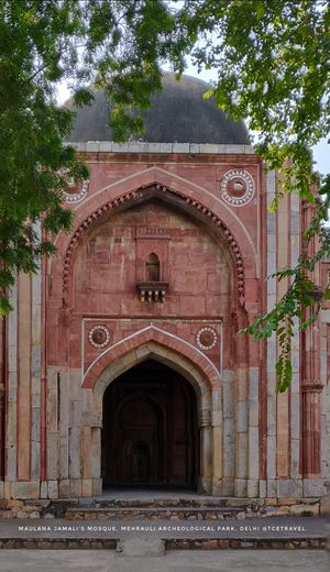 Jamali Kamali Mosque & Tomb