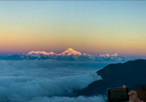 One who gets ready every morning- trip to East Sikkim