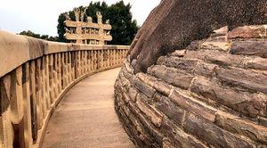Stupas At Sanchi