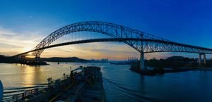 Crossing Panama Canal : One of the seven man-made wonders of the World