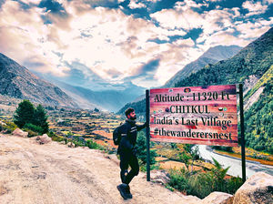 How visiting Chitkul made me feel patriotic?