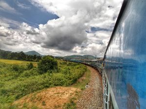 Thrilling Train ride to a hill station (Araku Valley)