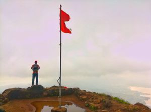 Two Treks in One Day: Tung Fort and Tikona Fort.