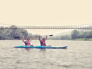 Kayakking at Inchathotty