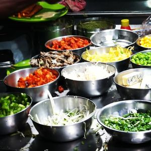 Vibrant Street Food Scene in HSR Layout