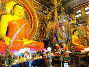 Most venerated Buddhist temples - In Western Province, Sri Lanka