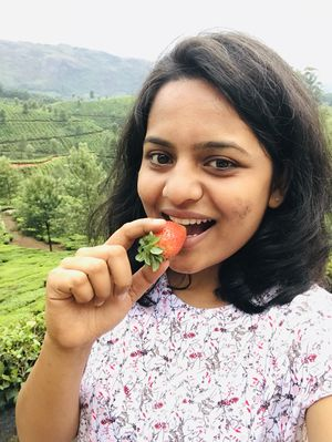 Fresh strawberries from Farm among the Tea hills of Munnar. #SelfieWithAView #TripotoCommunity
