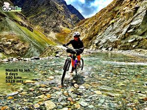 This is how I got Leh'd ! Cycling from Manali to Leh!!