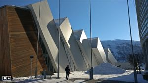 Tromso's arctic twins- Polaria and Cathedral
