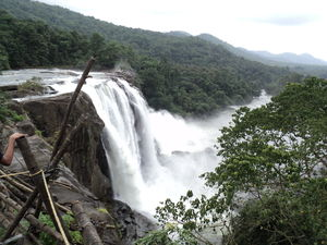 Athirappilly Waterfalls 1/undefined by Tripoto