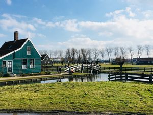 Country side view of Holland..