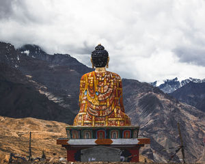Buddha, overlooking the valley. #BestTravelPictures #tripotocommunity @tripotocommunity