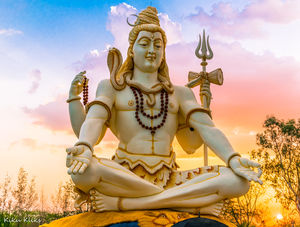 85ft tall Shiva Statue!!   Insta Id:  @little_detours #BestTravelPictures @tripotocommunity