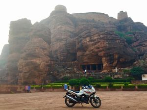 BADAMI CAVES | UNESCO World Heritage | BANASHANKARI AMMA TEMPLE | 1550 kms OF RIDE