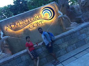 ADVENTURE COVE WATER PARK, SINGAPORE | Sentosa Island | Wanderlust On Wheel