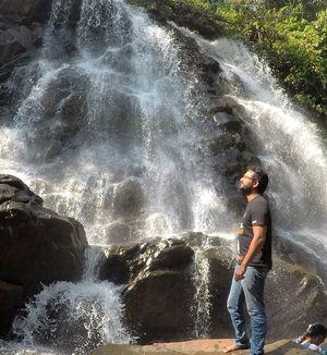 SIRIMANE FALLS, SRINGERI | Wanderlust On Wheel