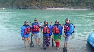 Rishikesh - The Rafting capital of India