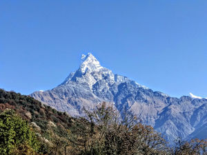 Solo trek to Mardi Himal Base Camp in Annapurna Himalayas