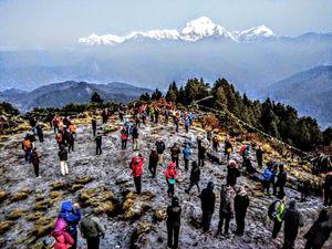 Solo trek to Ghorepani Poonhill in Annapurna Himalayas