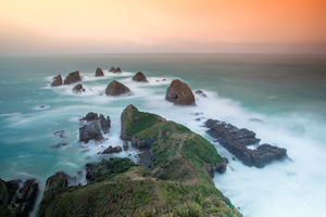 Nugget Point Lighthouse The Nuggets Road 1/1 by Tripoto