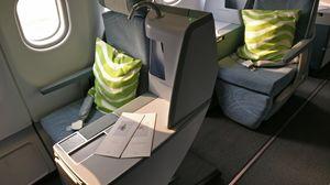 Finnair Business Class - luxury up in the air!