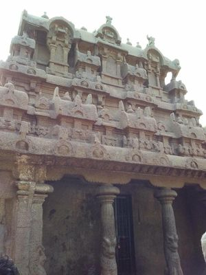 Rendezvoused with Mahabalipuram