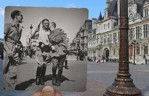 15 Incredible Picture Overlays Celebrating Paris Across Changing Times