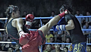 Lumpinee Boxing Staduim (NEW) Anusawari Bangkok Thailand 1/1 by Tripoto