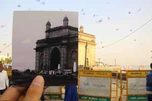 Mumbai Juxtaposed: A Photo Project Capturing 100 Years Of Change In The City