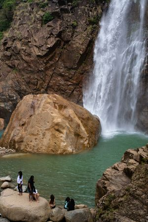 The Stunning Rainbow Falls in Meghalaya Is Straight out of Paradise