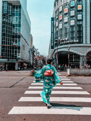 Kyoto in a Kimono kinda day!