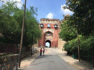 Bada Darwaza at Purana Qila