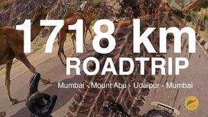 Roadtrip from Mumbai to Udaipur (1718 km) | North India | Mount Abu | Udaipur