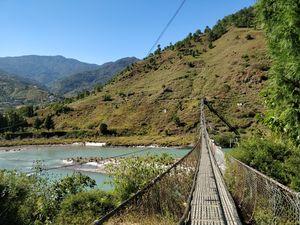 Punakha Suspension Bridge 1/undefined by Tripoto