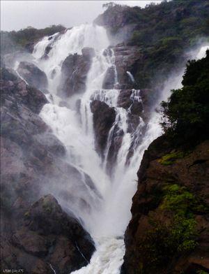 Trek to Mighty Dudh Sagar Waterfall